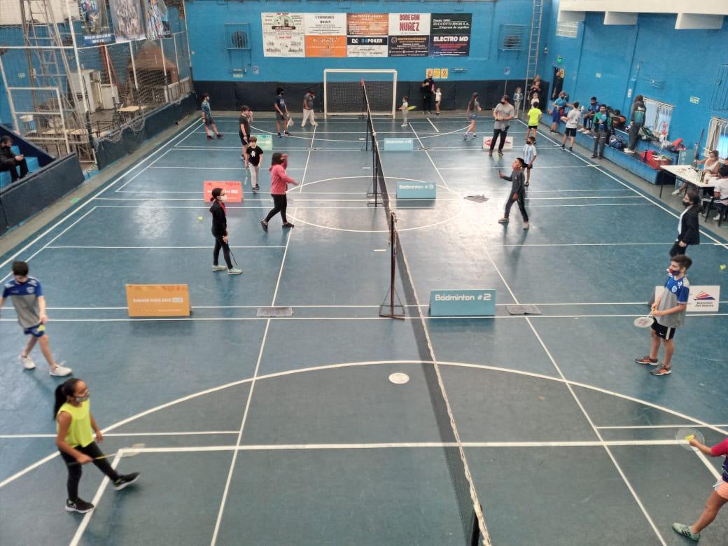 Badminton torneo 2021 CABA